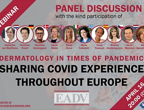 WEBINAR EADV Sharing COVID Experience throught Europe