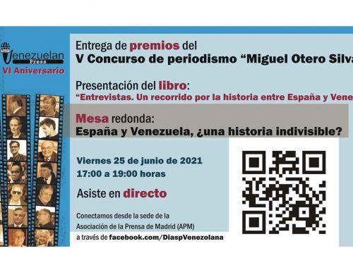 2º Lugar en Concurso de Entrevistas Miguel Otero Silva