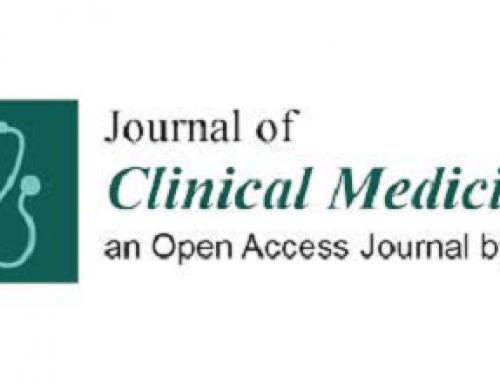 Nuevo artículo. Journal of Clinical Medicine